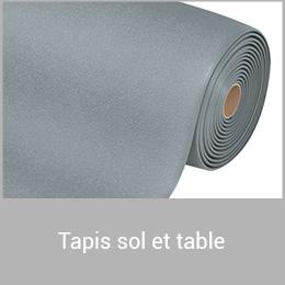 Tapis sol et table