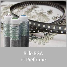 Bille BGA et préforme CMS