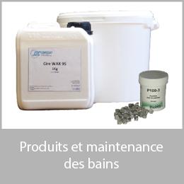 Produits maintenance des bains