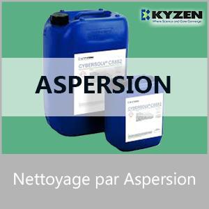 Nettoyage par aspersion