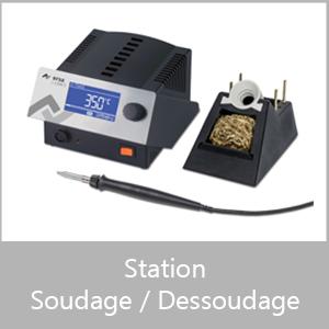 Station de soudage/dessoudage