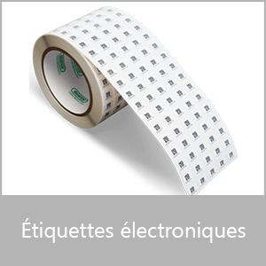 Etiquettes électroniques