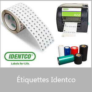 Etiquettes Identco