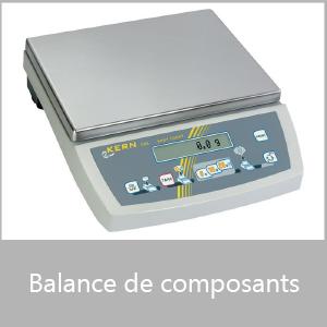 Balance de composants