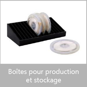 Boites pour production et stockage