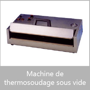 Machine de thermosoudage sous vide