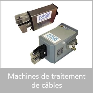 Machines de traitement de câbles