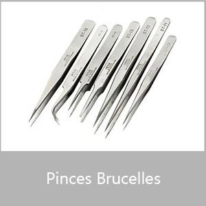 Pinces brucelles