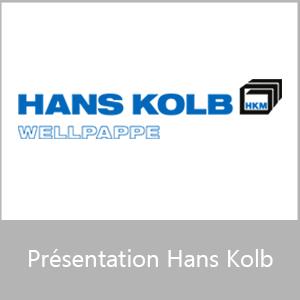 Présentation Hans Kolb