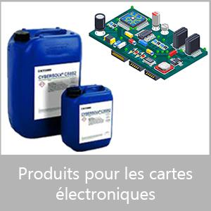 Produits pour les cartes électroniques